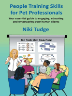 People Training Skills for Pet Professionals