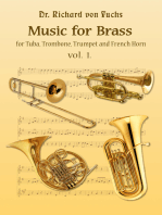 Dr. Richard von Fuchs Music for Tuba, Trombone, Trumpet and French Horn Brass vol. 1.