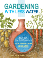 Gardening with Less Water