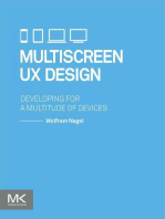 Multiscreen UX Design