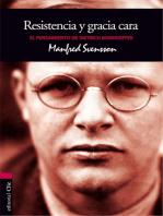 El pensamiento de D. Bonhoeffer