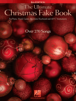 The Ultimate Christmas Fake Book - 6th Edition