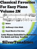 Classical Favorites for Easy Piano Volume 2 N