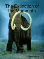 The Extinction of the Mammoth