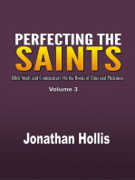 Perfecting the saints (Volume 3)