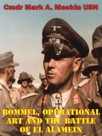 Rommel, Operational Art And The Battle Of El Alamein