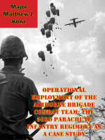 Operational Employment Of The Airborne Brigade Combat Team