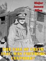 The Fall of Crete 1941: Was Freyberg Culpable?