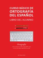 Curso básico de ortografía del español