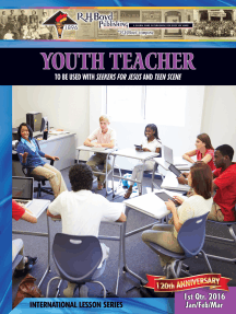 Youth Teacher: 1st Quarter 2016