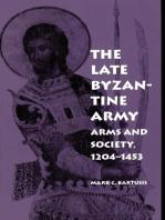 The Late Byzantine Army