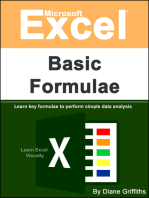 Microsoft Excel Basic Formulae