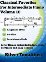 Classical Favorites for Easy Intermediate Piano Volume 1 C