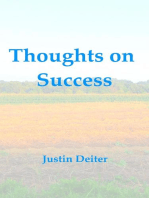 Thoughts on Success