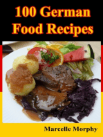 100 German Food Recipes