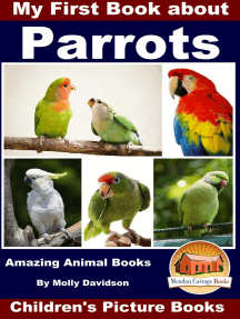 My First Book about Parrots: Amazing Animal Books - Children's Picture Books