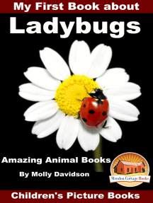 My First Book about Ladybugs: Amazing Animal Books - Children's Picture Books