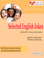 Selected English Jokes (ESL/EFL Version)