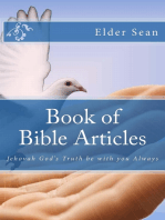 Book of Bible Articles