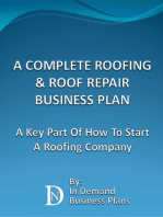 A Complete Roofing & Roof Repair Business Plan