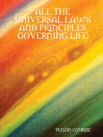 All of the Universal Laws and Principles Governing Life