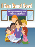 I Can Read Now! Kindergarten Reading Book