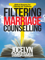Filtering Marriage Counselling