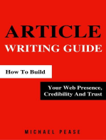 Article Writing Guide