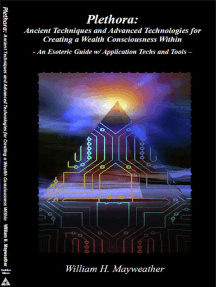 Plethora: Ancient Techniques and Advanced Technologies for Creating a Wealth Consciousness Within - An Esoteric Guide w/ Application Techs and Tools -