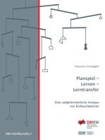 Planspiel - Lernen - Lerntransfer