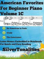 American Favorites for Beginner Piano Volume 1 C