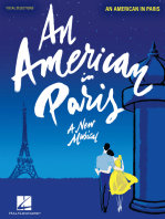An American in Paris: Vocal Line with Piano Accompaniment