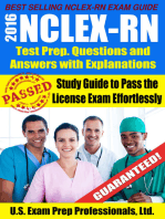 2016 NCLEX-RN Test Prep Questions and Answers with Explanations