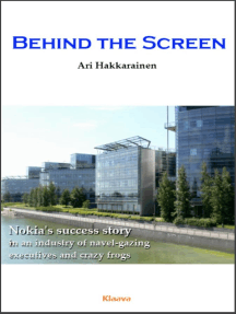 Behind the Screen – the Nokia Story