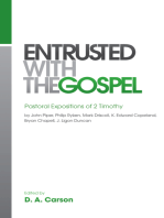 Entrusted with the Gospel