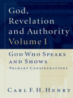 God, Revelation and Authority (Set of 6)