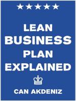 Lean Business Plan Explained
