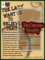 Tin Universe Monthly #14