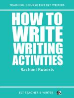 How To Write Writing Activities