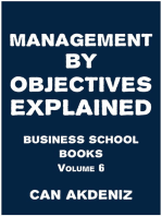 Management by Objectives Explained