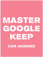 Master Google Keep