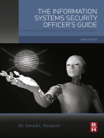 The Information Systems Security Officer's Guide: Establishing and Managing a Cyber Security Program