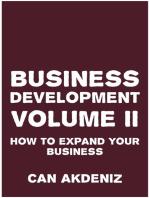 Business Development Volume II