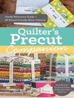Quilter's Precut Companion: Handy Reference Guide + 25 Precut-Friendly Block Patterns