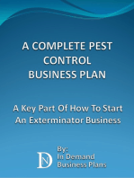 A Complete Pest Control Business Plan