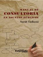 Manual de consultoría en asuntos públicos