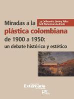 Miradas a la plástica colombiana de 1900 a 1950