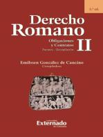 Derecho Romano II. Obligaciones y Contratos. Fuentes - Recopilación. 3.ª ed.
