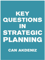 Key Questions in Strategic Planning