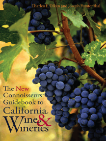 The New Connoisseurs' Guidebook to California Wine and Wineries